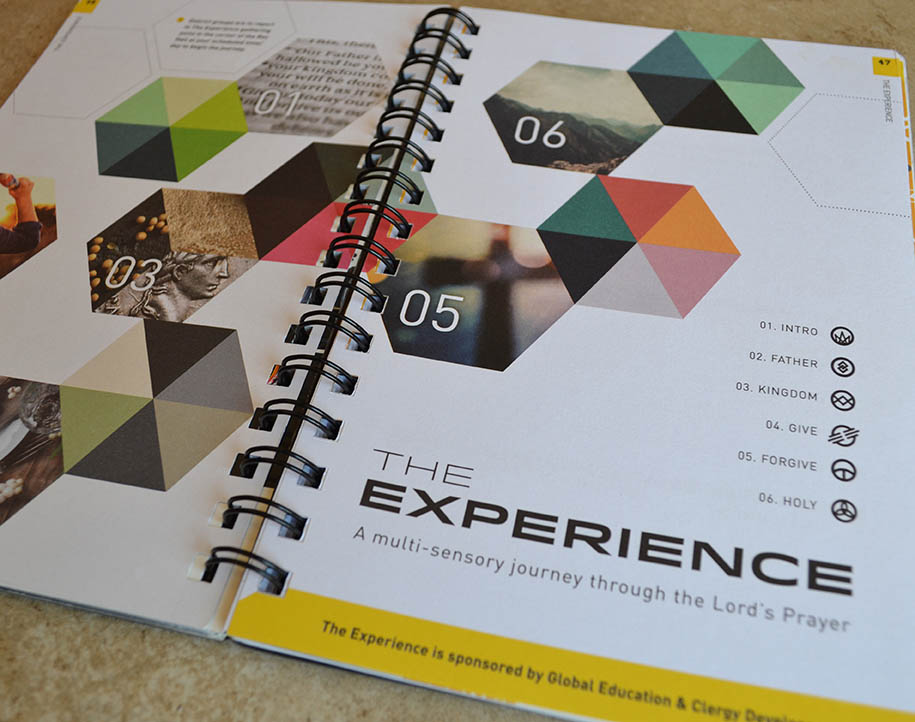 nazarene youth conference booklet hayley tarrant design branding